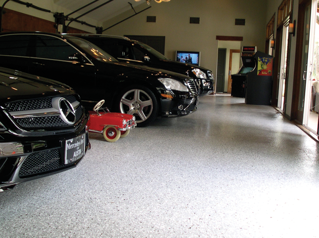 Specialty Coating Systems for Garage Floors and High Use Areas